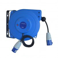 electrical reel, 230 volt reel, garage equipment